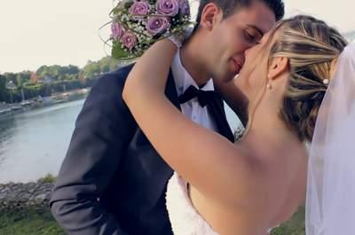 Gardez un souvenir palpable de votre mariage : Faites-en un film !