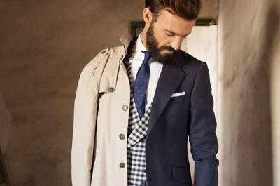 Descubre los distintos estilos en trajes de novio 2016