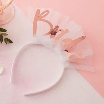 Diadema con velo de novia- Compra en The Wedding Shop