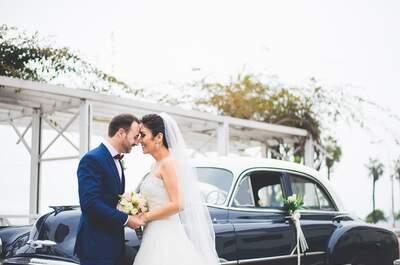 Giovanna y Ricardo, nacionalidades distintas unidas por el amor