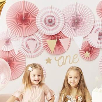 Rosetas decorativas rosa fantasía 3 unidades- Compra en The Wedding Shop