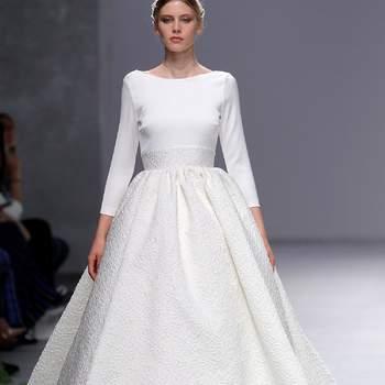 Cristina Tamborero. Credits_ Barcelona Bridal Fashion Week