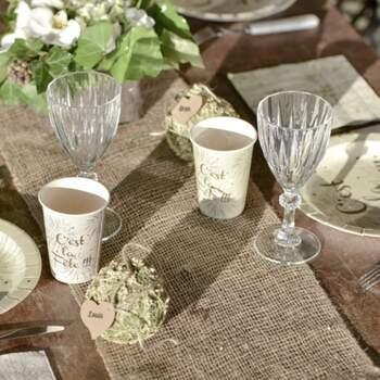 Rouleau De Table En Jute 26cm - The Wedding Shop !