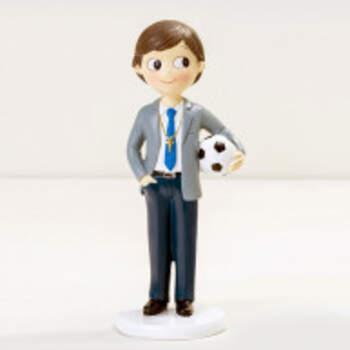 Cake Topper Enfant Avec Ballon - The Wedding Shop !