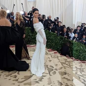 Kendall Jenner em Off-White | Foto: IG Met