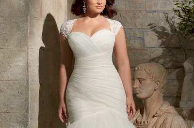 Vestidos de novia para mujeres con curvas 2015