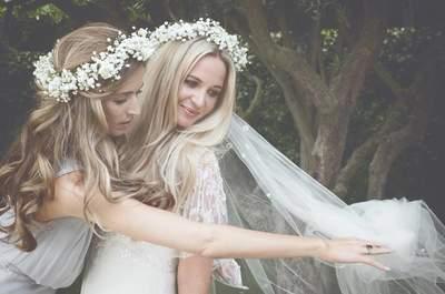 Descubre los cinco estilos de vestidos de novia que estarán de moda este 2017