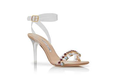 Inspírate con estos zapatos para novia Manolo Blahnik 2018. ¡20 diseños que te van a cautivar!
