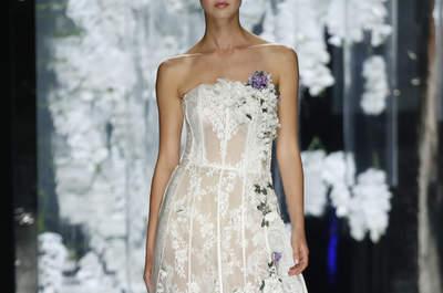 Vestidos de novia 2016 con precioso encaje: Los modelos que triunfarán
