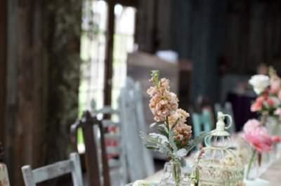 Mesas corridas: uma tendência para os casamentos de 2013