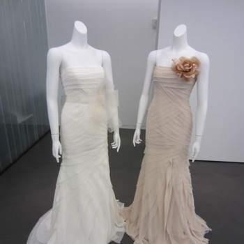 Mira las tendencias para otoño 2013 en vestidos para novias, invitadas y trajes para novios de Vera Wang. Fotos de Vera Wang