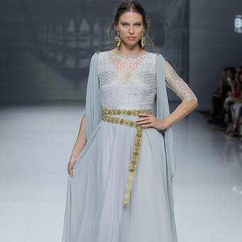 Matilde Cano. Credits: Barcelona Bridal Fashion Week