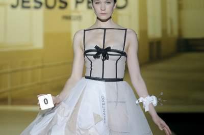Colección de vestidos de novia Jesús Peiró 2014