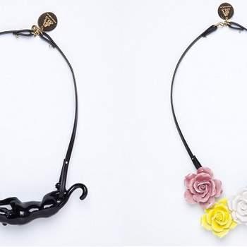 Voici une sélection de colliers parfaits pour compléter votre look d'invité lors de fêtes ou des mariages. Elégant, moderne et unique. Source :  Andrés Gallardo.