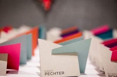 Wedding Decor Highlights: Geometric Shapes