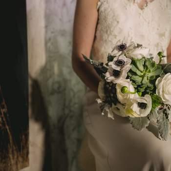 Une inspiration rustique et romantique pour un mariage chic et cosy