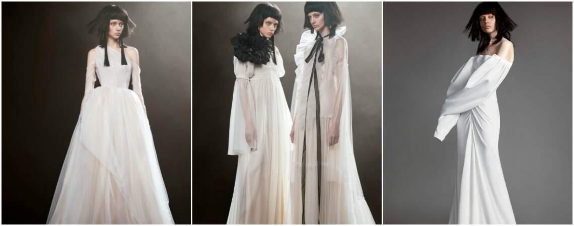 Vestidos de noiva Vera Wang 2018: um olhar diferenciado em sua nova coleção
