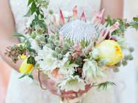 Bouquets de noiva com Próteas 2017