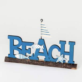 Décoration En Bois Beach - The Wedding Shop !