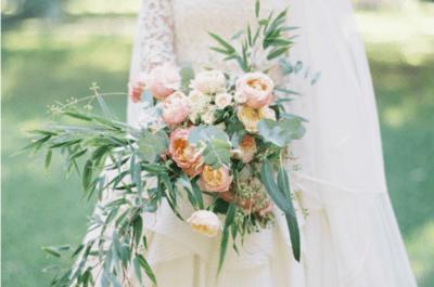 Ramos de novias para climas fríos y templados