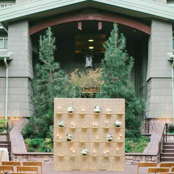 Las ideas más extraordinarias para decorar una ceremonia al aire libre