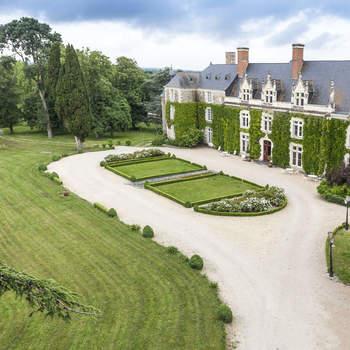 Photo : Château de l'Épinay - C'est à 20 minutes d'Angers et à une heure de Nantes, que se dresse ce lieu unique au beau milieu d'un parc de 23 hectares, parsemé d'arbres centenaires.