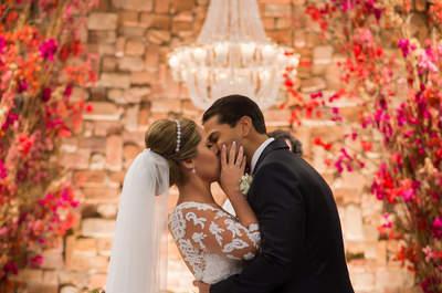 Roberta & Bruno: casamento clássico PERFEITO e coloridíssimo em Niterói!