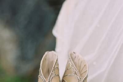 Zapatos de novia Jimmy Choo 2015: lujo a tus pies