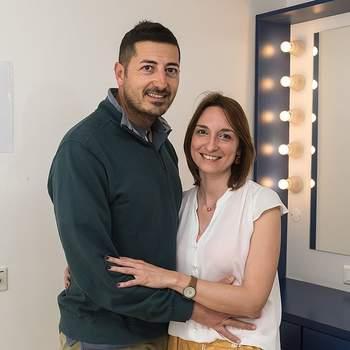 """Catarina Costal, de 34 anos, e Luciano Barata, de 38, vão casar pela Igreja. A advogada e o GNR do Beato defendem que """"unidos somos mais fortes"""""""
