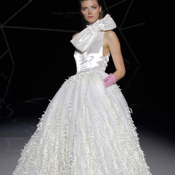 Isabel Zapardiez. Créditos: Barcelona Bridal Fashion Week