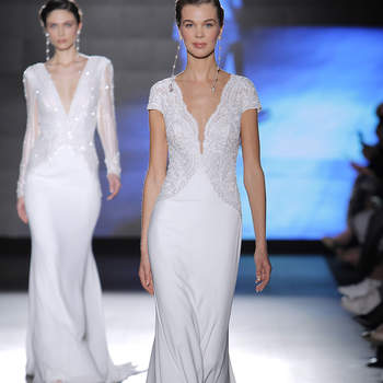Rosa Clará. Créditos: Barcelona Bridal Fashion Week