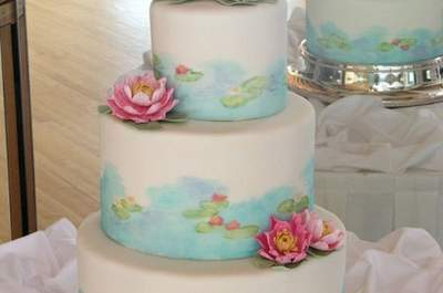 Art Inspired Wedding Cakes