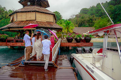 Real Wedding: Eine tropische Hochzeit!