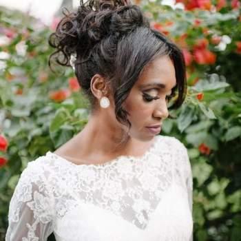 Cabelo de noiva preso | Credits: divulgação