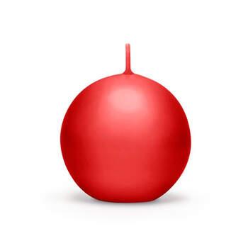 Vela esfera roja 10 unidades- Compra en The Wedding Shop