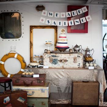 Este bodegón tan acorde con la estética vintage sorprenderá a los invitados.Foto: Brosnan Photographic
