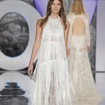 40 vestidos de novia cuello halter. ¡Deslumbra con estos diseños tan sensuales!