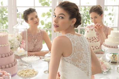 Deleite escondido y presente: Rosa Clará te enamorará con estos vestidos de novia 2015