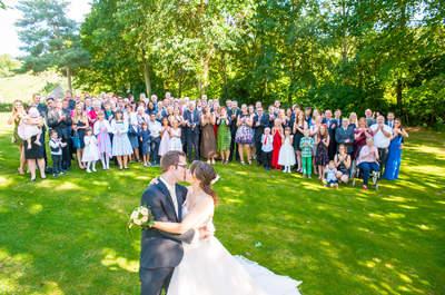 Hochzeit im Retro-Style: So originelle Aufnahmen entstanden bei der Hochzeit von Jenny und Florian!