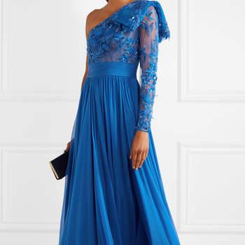 Vestidos de fiesta de color azul: ¡Elige alguna de sus tonalidades y arrasa!