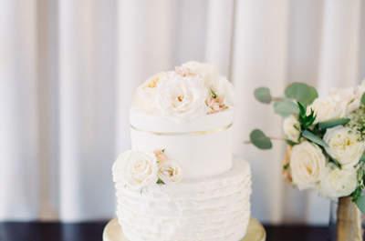 Torty ślubne z żywymi kwiatami! Hit sezonu!