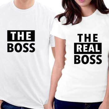 Camisetas The Boss y The Real Boss- Compra en The Wedding Shop