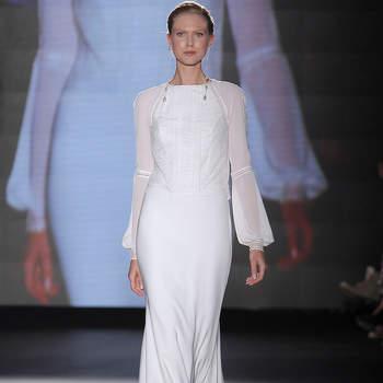 Rosa Clará - Credits: Barcelona Bridal Fashion Week