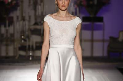 Eleganckie i wyrafinowane suknie ślubne z dekoltem w łódkę! Nie przegap!