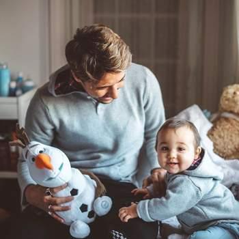 Os cantores mostram-se sempre muito rendidos ao filho nas redes sociais. | Foto via Instagram @ miguelcristovinho