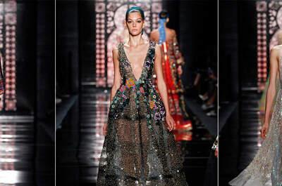 Reem Acra Primavera-Verano 2016: vestidos para una princesa