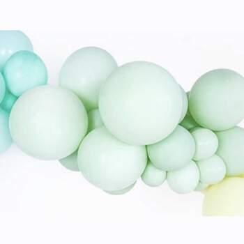 Ballons Pistache Pastel Différentes Mesures - The Wedding Shop !
