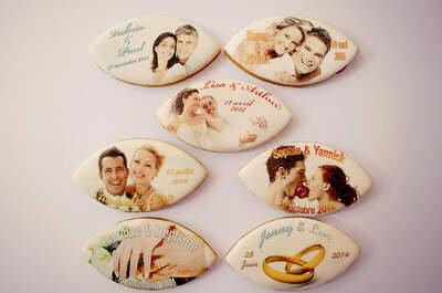 Personnalisez confiseries et pâtisseries de mariage grâce à Gérard Leroy Designer Alimentaire