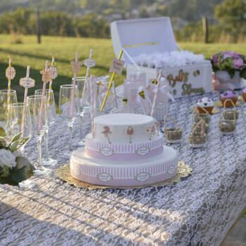 Mantel Motivo Encaje- Compra en The Wedding Shop