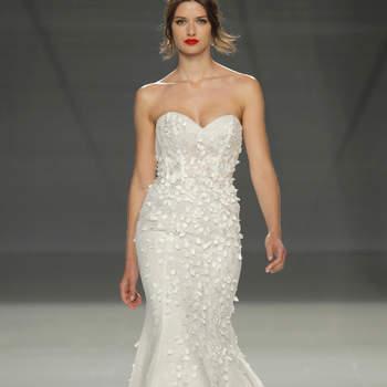 Demetrios. Credits- Barcelona Bridal Fashion Week